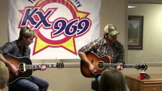 """KX 96.9 Chuck Wicks """"All I Ever Wanted"""""""