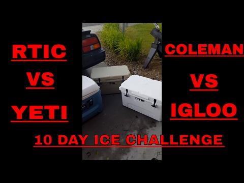 Yeti Vs Rtic Ice Test Doovi