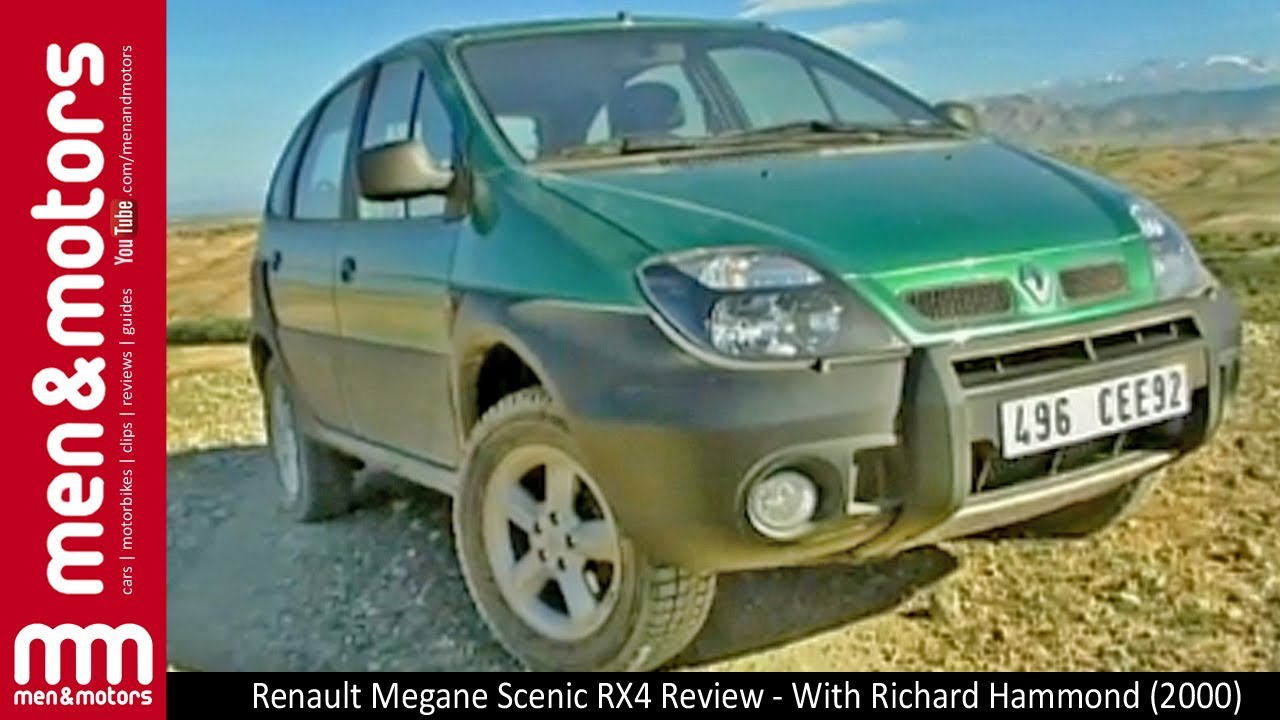 renault megane scenic rx4 review with richard hammond 2000 youtube. Black Bedroom Furniture Sets. Home Design Ideas