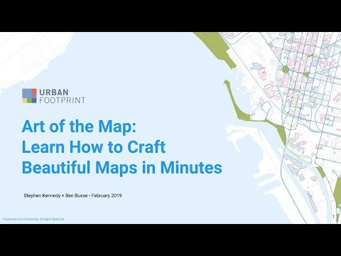 Art of the Map: Learn How to Craft Beautiful Maps in Minutes