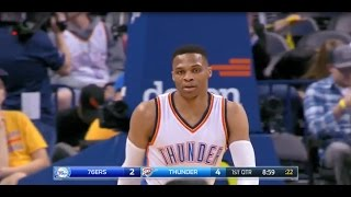Repeat youtube video Westbrook Notches 1st PERFECT Triple-Double In NBA History! | March 22, 2017