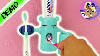 מפלצת שיורקת משחת שיניים? משהו ממש מגניב שיגרום לכם לרצות לצחצח!