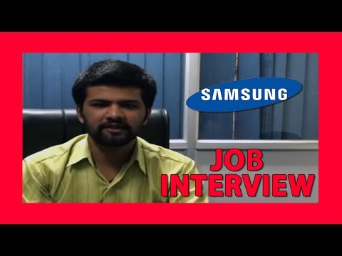 Interview question and answer - Samsung Interview