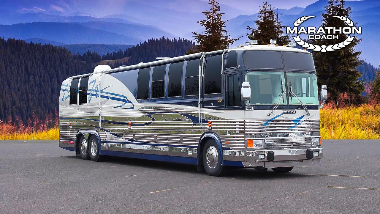 Marathon Coach 1999 Pre-Owned Coach #0580, Prevost for Sale, Le Mirage 45'
