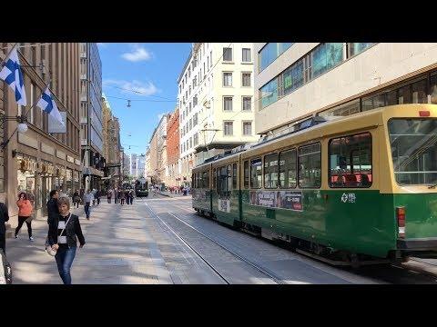 Streets of Helsinki - Street sounds ONLY