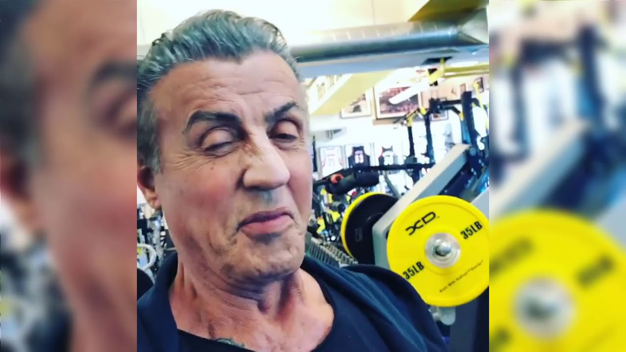 Sylvester Stallone - 72 Years Old Workout - YouTube