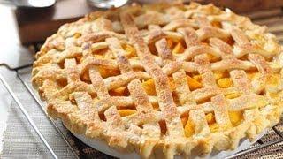 Pay De Durazno - Peach Pie - Recetas De Postres