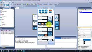 MCA Hướng dẫn lập trình và tạo giao diện trên màn hình HMI Nextion 3.2 touch