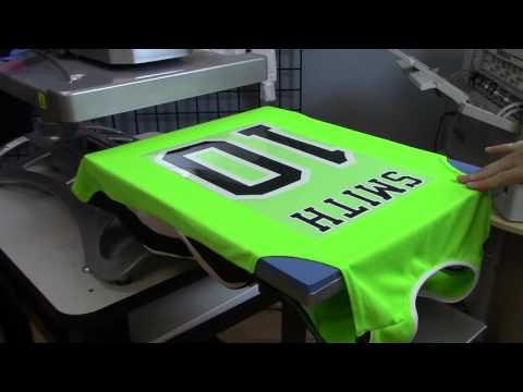 How Make a Custom Sports Jersey with the OKI pro920WT and Di
