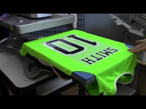 How Make a Custom Sports Jersey with DigitalHeatFX [New Heat Press Settings]