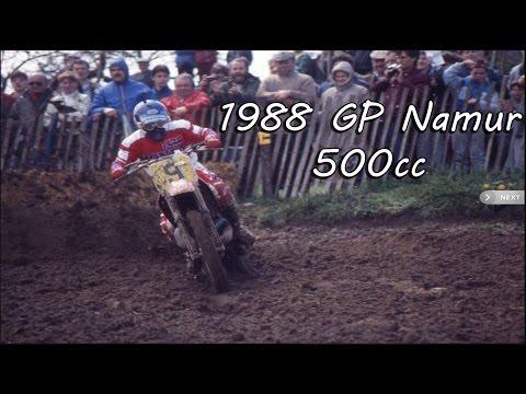 Motocross Grand Prix 1988 -  Namur, Belgium - 500cc (Eric Geboers World Champion)