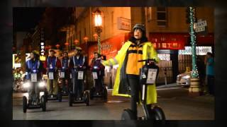 Night Chinatown and Waterfront Segway Tour San Francisco