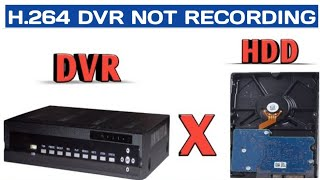 HARD DRIVE NOT RECOGNIZED IN H.264 CCTV DVR(PART 1)? TRY THIS SIMPLE CCTV TROUBLESHOOTING STEPS