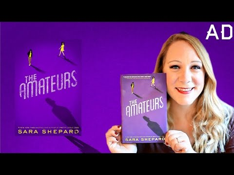 THE AMATEURS BY SARA SHEPARD BOOK