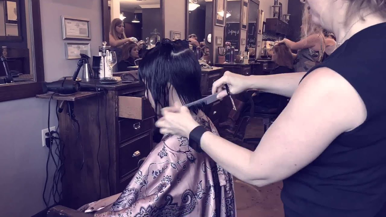 Haircut by tamara dahill youtube for A tamara dahill salon