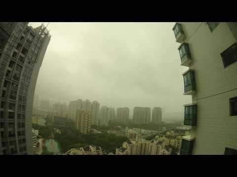 Shenzhen - Rainy Day - Time Laps