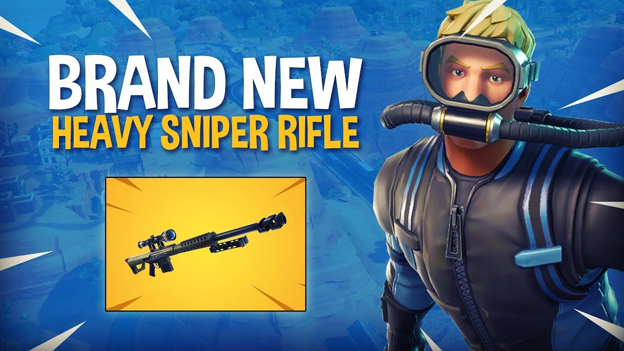 New Heavy Sniper Rifle Fortnite Battle Royale Gameplay Ninja