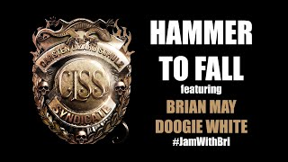 CARSTEN LIZARD SCHULZ SYNDICATE - Hammer to Fall - Featuring Brian May & Doogie White #JamWithBri
