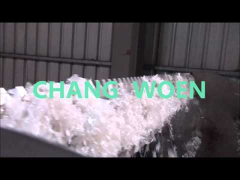 LDPE Film Washing and De Watering Squeezing Line