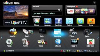 Conheça a Samsung SMARTTV! A TV do futuro ...