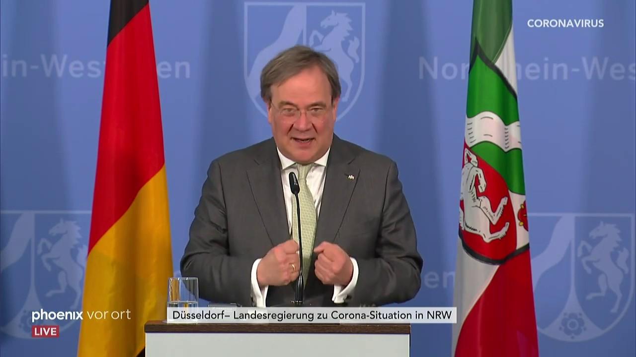Pressekonferenz Nrw
