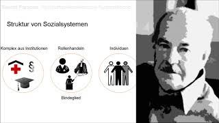 Talcott Parsons: Strukturfunktionalistische Systemtheorie thumbnail