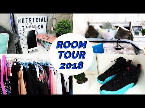 MY AESTHETICALLY PLEASING ROOM TOUR 2018: MINIMAL WHITE, TURQUOISE & GREY DECOR ♡ TASHIKA BAILEY