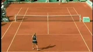"Maria Sharapova VS Safina - Swearing at crowd ""Up your fu*king ass"""
