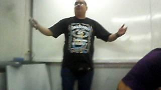 Tio chico cantando Milho cru- Central M4 2011