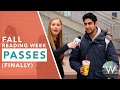 Western University Fall Reading Week Officially Passed
