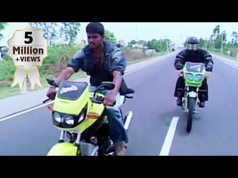 Vijay and Raghava's bike race | Thirumalai | Tamil Scene 1
