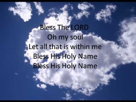 Bless The Lord - Carl Cartee
