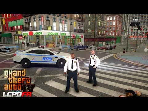 GTA 4 - LCPDFR - EPiSODE 45 -  NYPD FORD UNMARKED(NYPD CAPTAIN PATROL)