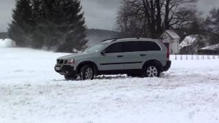 VOLVO XC90 2,5T AWD - snow ride - drifting