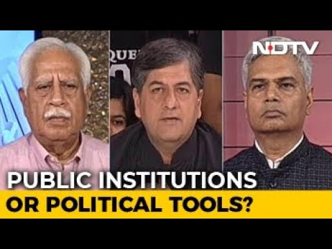 The Big Fight: The Credibility Crisis In India's Institutions