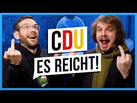 Die ZERSTÖRUNG der CDU - Korruption Spezial Edition - SPACE FROGS