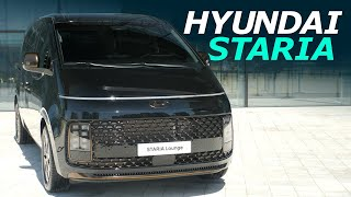 "New 2022 Hyundai STARIA Lounge MPV Review ""The Minivan from Mars"""