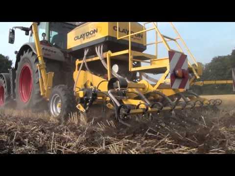 top agrar-Test: Claydon Hybrid Strip Till Direktsaatmaschine