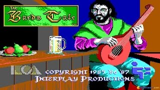 Bard's Tale gameplay (PC Game, 1985)