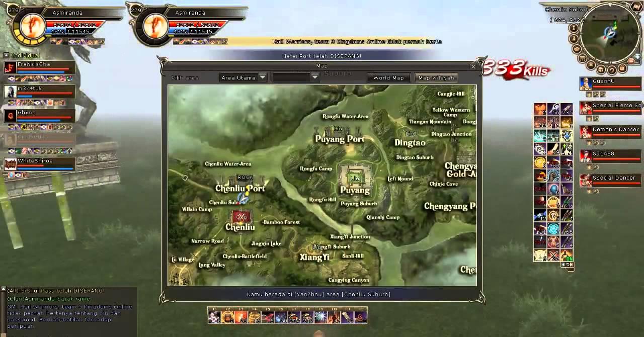 3 Kingdom Online Indonesia