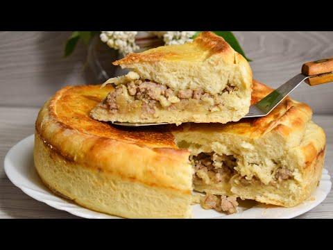 Вкусный Домашний Пирог с Капустой и Фаршем. СЪЕДАЕТСЯ МГНОВЕННО