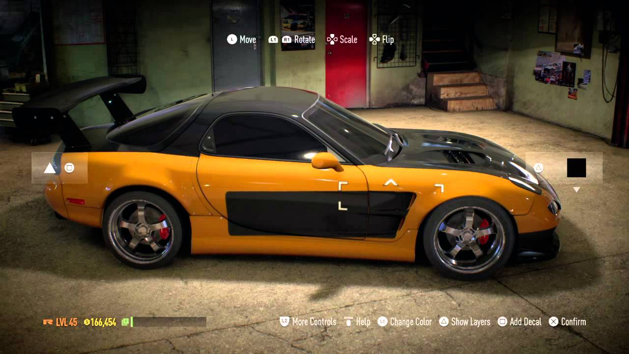 Need For Speed 2015 Tokyo Drift Hans RX7