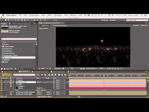 05 - Getting Started With Trapcode Form: Particle Shading And Camera Options