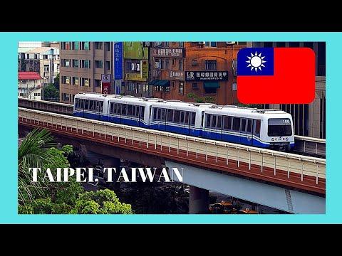 TAIPEI'S modern SUBWAY (METRO/underground) system, TAIWAN