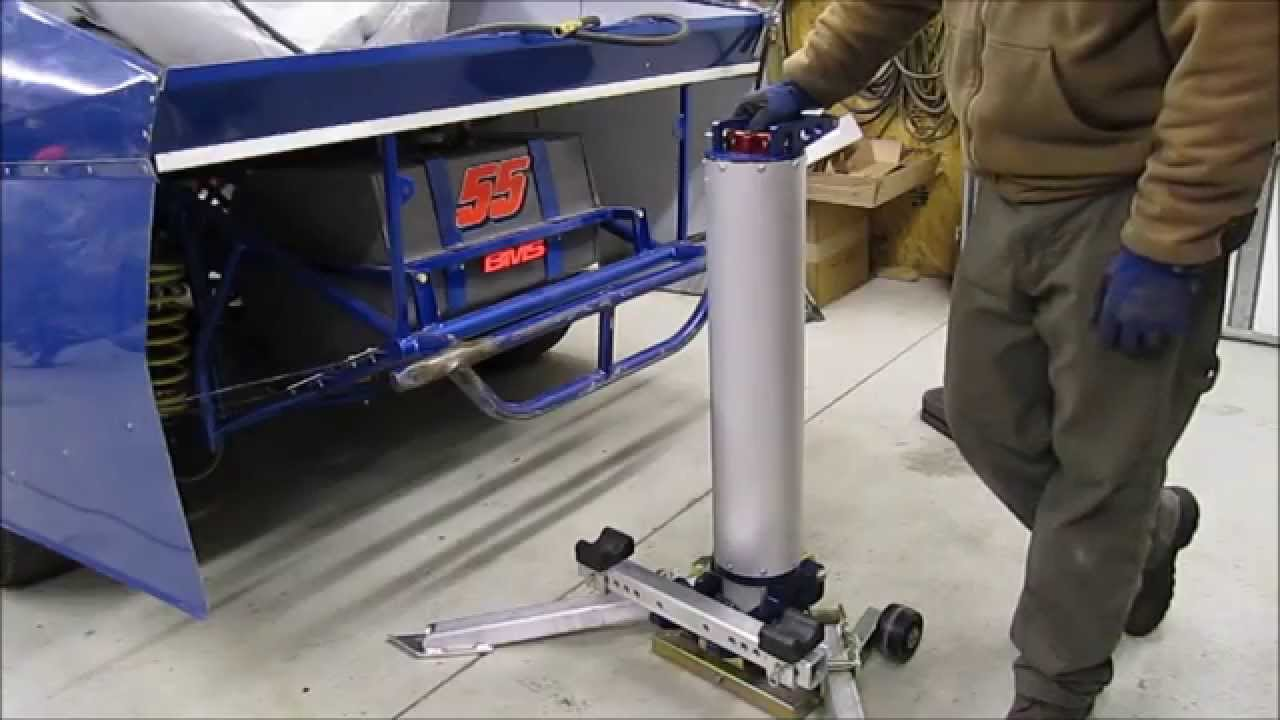 Review Bert Air Powered Bumper Jack Youtube
