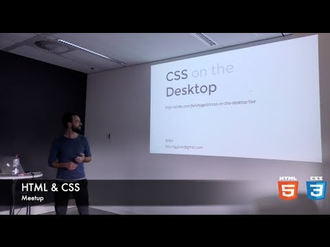 CSS on the Desktop - Felix Hageloh