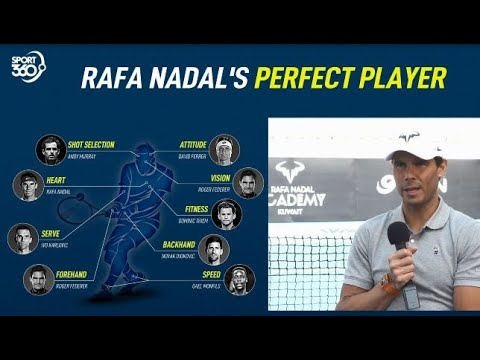 Roger Federer, Novak Djokovic and Andy Murray | Rafa Nadal creates his perfect player