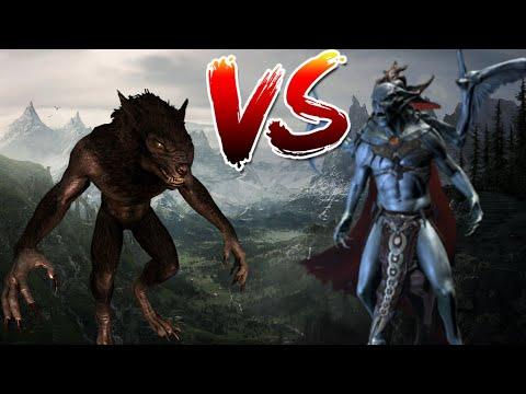 Skyrim - кто лучше? Вервольф или Лорд-вампир?