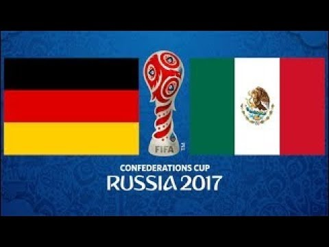Germany V Mexico !!! | PES 2017 |  FIFA Confederations Cup Semi-Finals !!!!