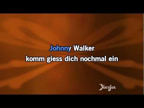 Karaoke Johnny Walker - Marius Müller-Westernhagen *